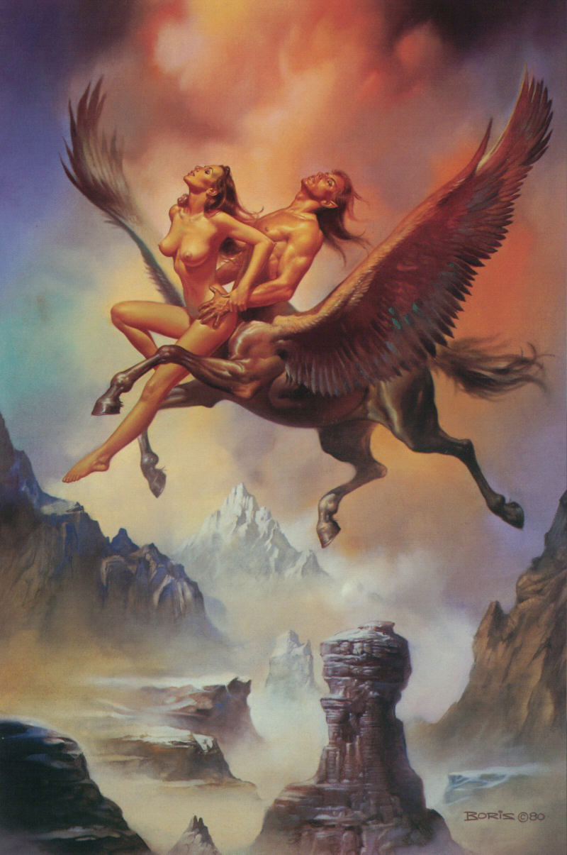 Erotic mythical fantasy art naked gallery
