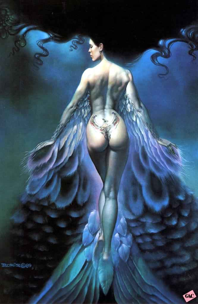 Valiant Fantasy Art Gallery Luis Royo Boris Vallejo Julie Bell